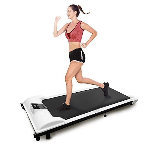 KCRET Walking Laufband für Zuhause,Laufband Elektrische Mit Fernbedienung Und LCD-Display,Ultradünn Und Leise Leniger Als 50 dB,Einstellbare Geschwindigkeit 1-6 km/h(Lieferung innerhalb Einer Woche)