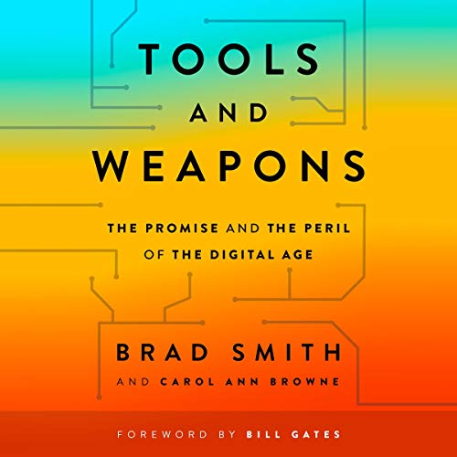 Tools and Weapons audiobook cover art