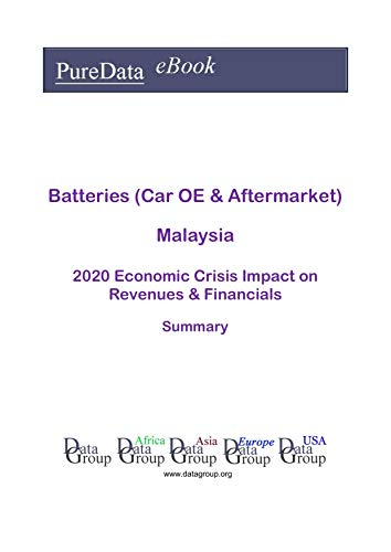 Batteries (Car OE & Aftermarket) Malaysia Summary: 2020 Economic Crisis Impact on Revenues & Financials