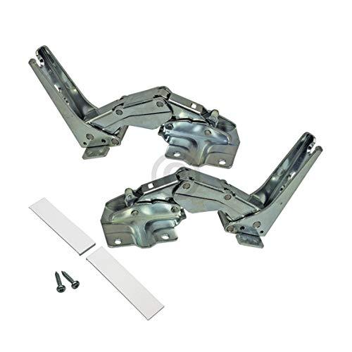 VIOKS Türscharnier Türscharnier-Einbau Scharnier Türscharnier-Set wie Bosch Siemens 00481147
