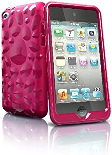 iSkin Pebble for iPod touch 4G - fundas para mp3/mp4 Rosa