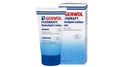 Gehwol Fusskraft Hydrolipid-Lotion 150ml - with Jojoba + Avacado - Restores Moisture for Feet & Legs