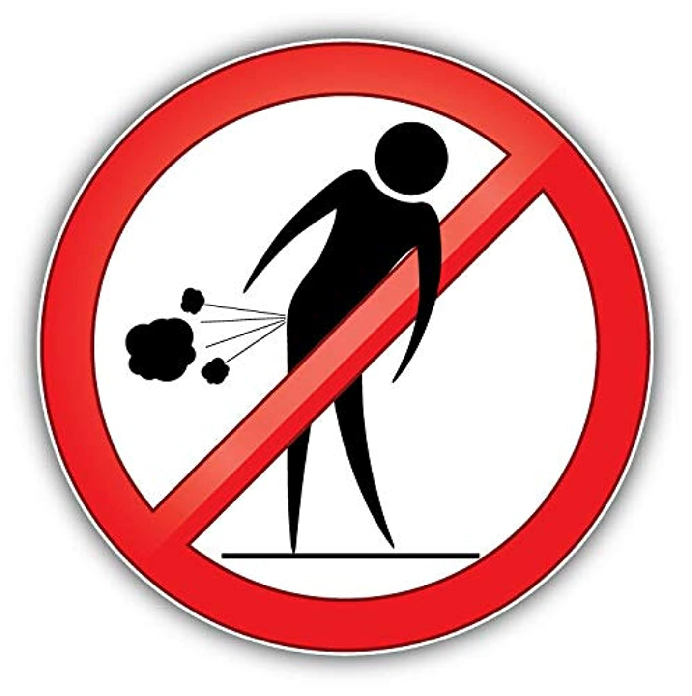 Magnet Forbid Farting People Ban Stop Sign Vinyl Magnet Bumper Sticker Magnet Flexible Vinyl Magnetic 5 oqtrpdsxdcx330