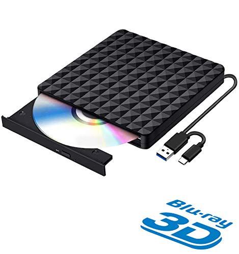 AQOTER -  Externe Blu Ray DVD