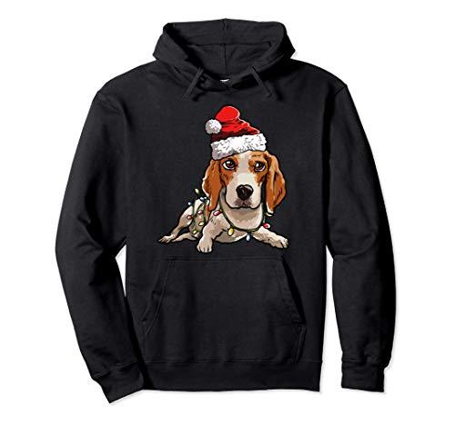 Beagle Natale Regalo X-Mas Costume Amore Per I Cani Felpa con Cappuccio