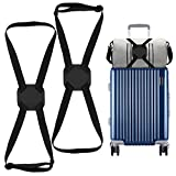 2 Pack <span class='highlight'>Luggage</span> Bungee, High Elastic Suitcase <span class='highlight'>Adjustable</span> <span class='highlight'>Luggage</span> Straps Suitcase <span class='highlight'>Adjustable</span> Belt with Buckles and More Applications