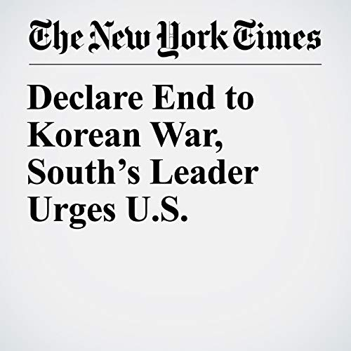 Declare End to Korean War, South's Leader Urges U.S. copertina