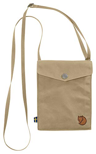 FJÄLLRÄVEN Unisex-Erwachsene Pocket Tasche, Beige (Sand), 3x18x14 cm (B x H x T)
