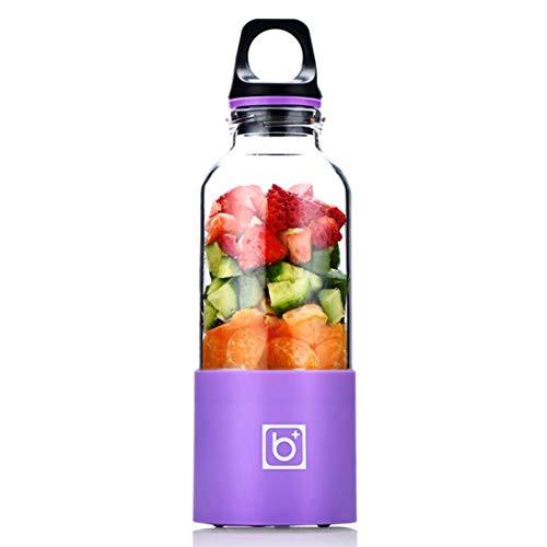 LouiseEvel215 500ML tragbare elektrische Entsafter Cup USB aufladbare Automatische Gemüse Obst-Saft-Hersteller Cup Entsafter Mixer Mixer