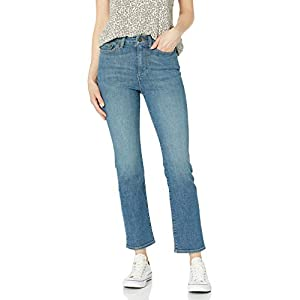 Women's High-Rise Slim Straight Jean
