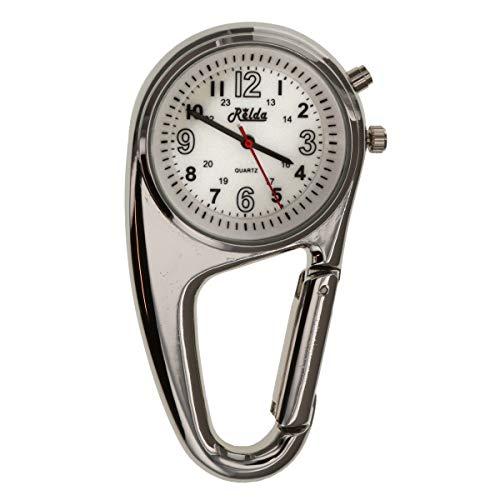 Krankenschwester FOB-Uhr, Karabinerhaken, Hintergrundbel,REL114