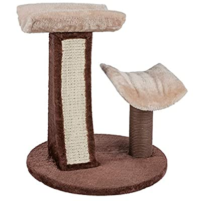 Catry Cat Tree with Build in Scratching Pad for...
