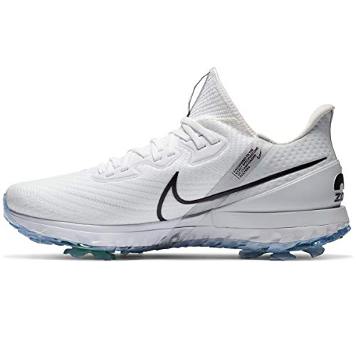 Nike Air Zoom Infinity Tour Golf Shoes (White/Black, Numeric_8)