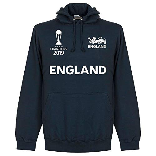 Retake England Cricket World Cup Winners Hoodie - Navy - XXXL