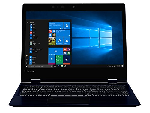 TOSHIBA Portege X20W-D-111 Laptop (Intel i7-7600U, 31,7cm 12,5Zoll Full-HD entspiegelt, 16GB RAM, 512GB SSD, WLAN, Bluetooth 4.2, Windows 10 Pro) blau