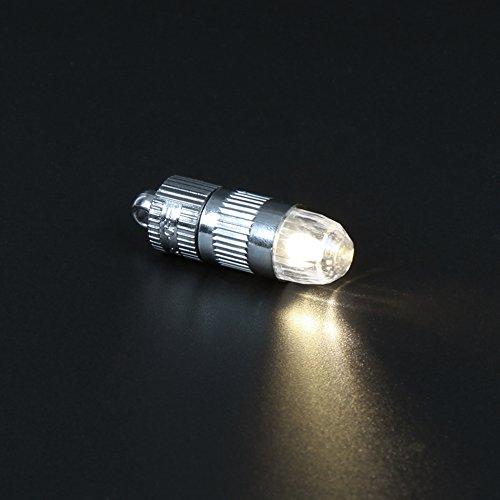 Papierlaternen, Lampions mit Mini LED Lichter - 6