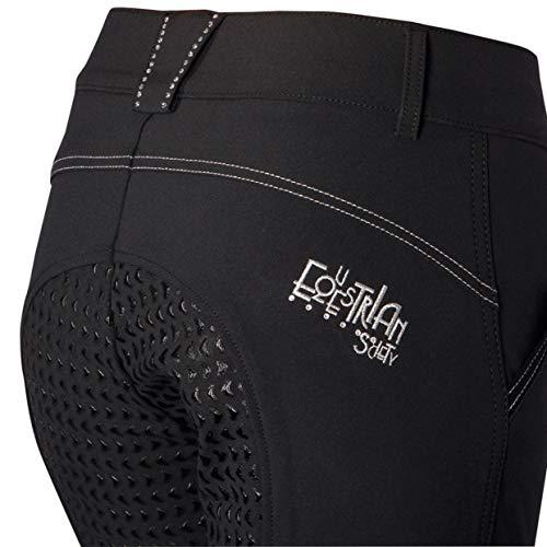 Harry´s Horse Reithose Livorno Full Grip Silikon Vollbesatz, Farbe:schwarz, Größe:D46
