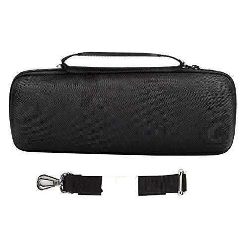 Mxzzand Lautsprecher-Schutztasche Stoßfeste tragbare kompakte Schutztasche Lange Lebensdauer Langlebige verstellbare Schulter-STR. Für Lautsprecher