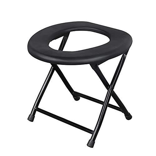 Z-SEAT Klappbarer Kommodenstuhl Leichter Kommoden-Toilettensitz Kommode, WC-Stuhl, Toilettenstuhl für Senioren, ergonomischer Sitz, rutschfeste Gummispitzen