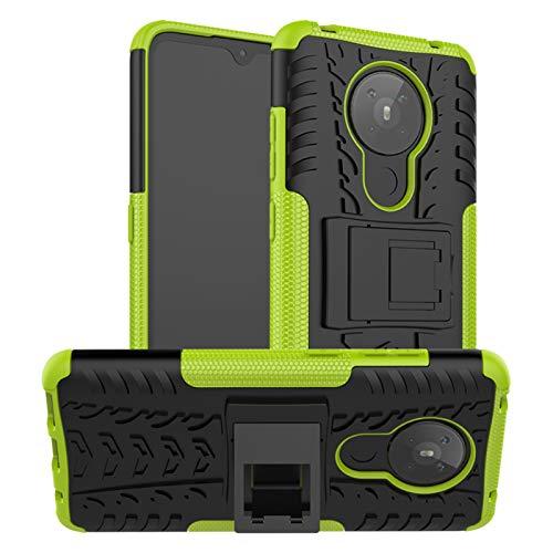 betterfon | handyhülle Nokia 5.3 Hülle - Handytasche schutzhülle silikon case für Nokia 5.3 Grün