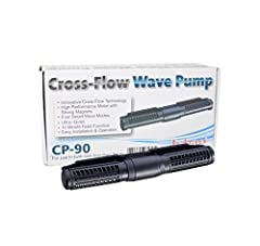 Crossflow technology make the flow return to pump directly 360 degree without dead spots Create different type of the flow similar as natural wave; evenly distributed flow rate throughout the entire aquarium Unique control system allows to wave off d...