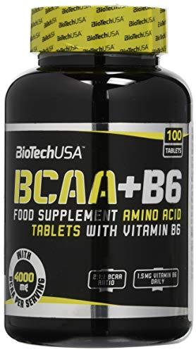 BioTech USA IAF00083528 BCAA + B6, 100 Compresse