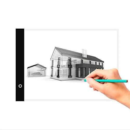 Led Tableta Electronic Art Graphic Painting Writing Table A4 Tableta De Dibujo Digital Graphics Pad Usb Led Light Box Tracing Copy Board-A4_Stepless_Dimming