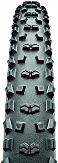 Continental Mountain King II Fold Bike Tire, Black, 26-Inch x 2.2