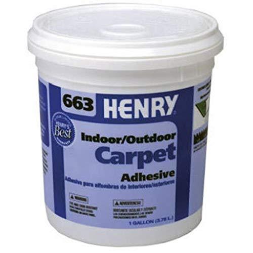 Henry, W.W. Co. 12185 12185 GAL #663 Carp Adhesive Beige, Gallon