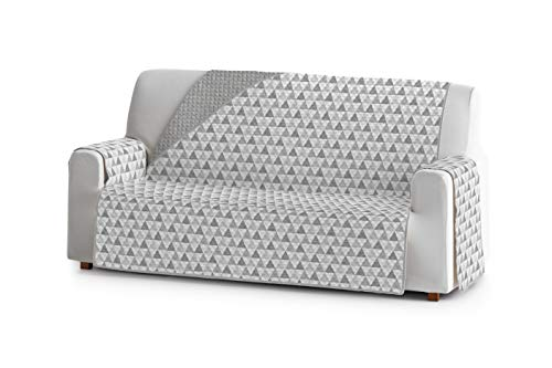 Eysa Nordic Funda, Poliéster, C/6 Gris-Gris, 4 plazas 190cm. Válido para sofá Desde 210 a 250cm