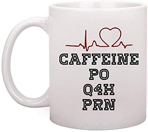 Taza de café Funny RN Medical Doctor Nurse de 11 oz, cerámica