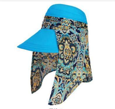 Fablcrew. Cappello Estivo da Sole Estivo Visiera Copriscarpa Anti-UV per Il Ciclismo Size 56-58cm (Stile 1)