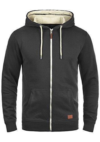 Blend Hulker 20704468ME Zip-Hood, Größe:L, Farbe:Black (70155)