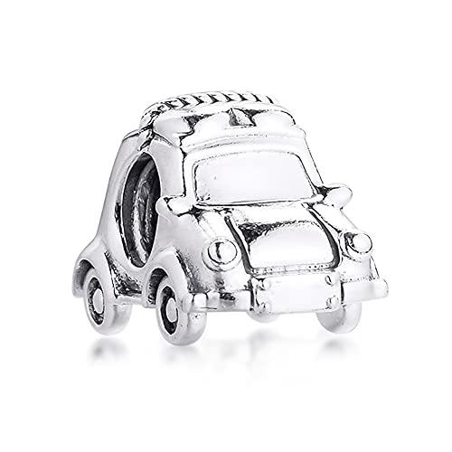 COOLTASTE 2021 primavera nuevo coche eléctrico grano 925 plata DIY se adapta para pulseras originales Pandora encanto joyería de moda