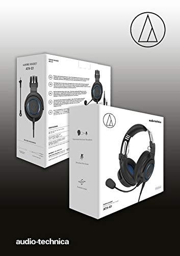 Audio-Technica ATH-G1 Cuffie con microfono da gaming premium