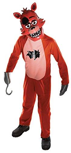 Rubie's Costume officiel Foxy de Five Nights at Freddy's pour enfant, taille M