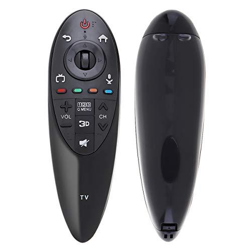 asfasfd Yajie-RC, Negro Magic Remote Control LCD TV Inteligente en Forma for ANMR500 AN-MR500G ANMR500 con 10M Distancia de transmisión en Forma for el televisor LG en Forma for 3D TV IR 433 MHz