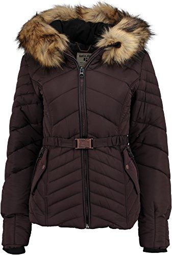 Garcia Damen Jacke U60098 Gr. 40 (Herstellergröße: L) Violett (aubergine 1404)