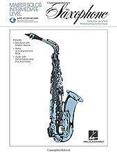 Master Solos Intermediate Level - Alto Sax: Book/Online Audio