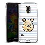 Coque Compatible avec Samsung Galaxy S5 Mini Étui Housse Ourse Disney Winnie l'ourson