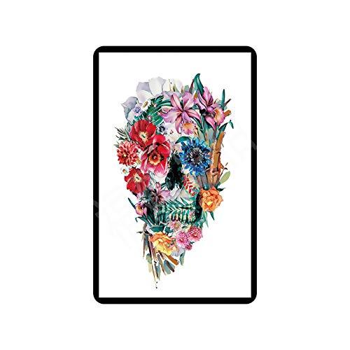 Guangzhouf Cartel de Metal, Placa de Plantas de Flores, Placa de hojalata, Cartel, Dormitorio, jardín, Tienda, decoración de Pared, Pintura clásica Retro 20x30cm 7