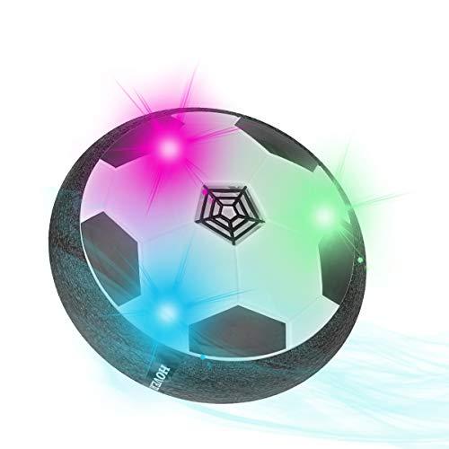 Herefun Airpower Fussball Spielzeug mit LED, Hover Ball Spielzeug Kinder, Wiederaufladbar Hover Soccer Ball Football Sport Ball Spielzeug, Indoor Fussball für Kinder Haustiere Training