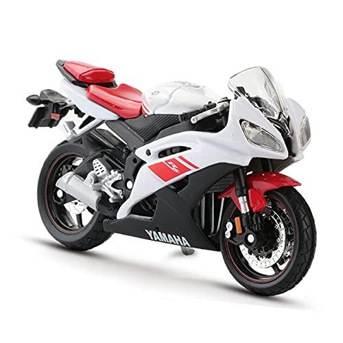 El Maquetas Coche Motocross Fantastico 1:18 Para Yamaha YZF-R6 Simulación Aleación Fundición A Presión Colección Modelos Motocicleta Decoración Regalo Coche De Juguete Regalos Juegos Mas Vendidos