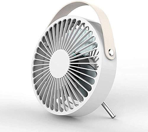 Ventilador eléctrico USB Small Fan Palm es ajustable,White