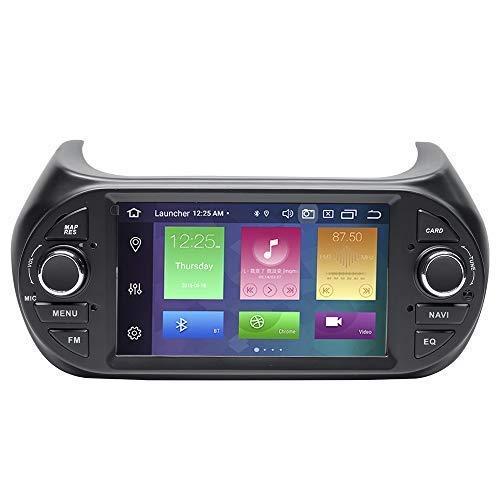 Reproductor multimedia para coche para Fiat Fiorino Citroen Nemo Peugeot Bipper 2008-2015 Android 10 Octa Core 4G RAM 64G ROM 7 pulgadas Pantalla IPS Radio de coche Audio estéreo Navegación GPS DSP