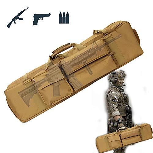 TBDLG Gewehr Weichkoffer, wasserdichte Gewehrtasche, Gepolstert Waffenkoffer FüR Langwaffen, FüR Outdoor Tactical Carbine Wasser- Und Staubdicht Jagd SchießEn