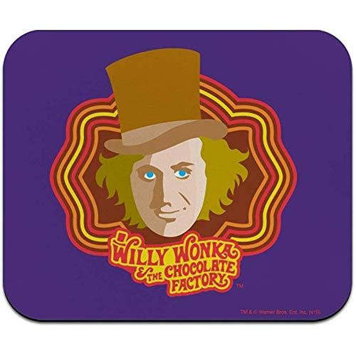 Willy Wonka en de chocoladefabriek Willy Wonka laag profiel dunne muismat muismat