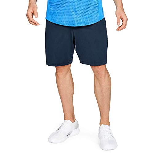 Under Armour MK1 Shorts, Pantaloncini Uomo, Blu (Academy/Academy/Stealth Gray 408), L