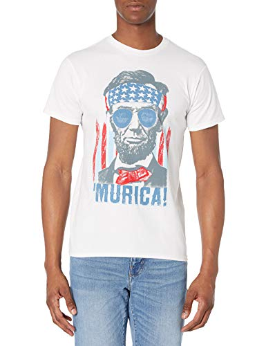 Hanes Men's Graphic Tee - Americana Collection, America, Medium