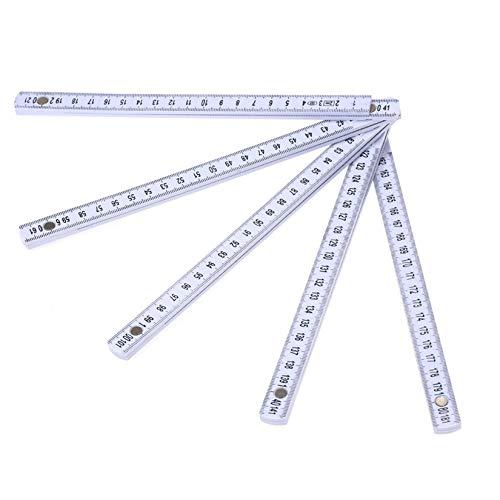 DIMDIM Faltbares Mehrwinkel-Lineal, leicht, zum Messen von Werkzeug (Farbe: 1)